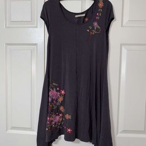 ⬇️ 3/$15 Caite embroidered Tunic top/Dress